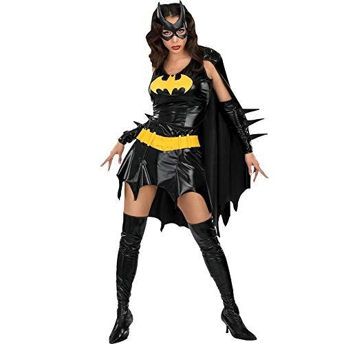 König Handschuhe Kostüm Hexe - Meilandeng Hexenkostüm Halloween-Kostüme für Mädchen Hexenkostüm Damen Halloween-Kostüm Königin verkleiden Sich einheitliche Hexe Outfit Teufel Partyoutfit Kostüm