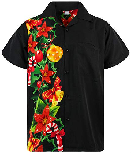 Funky Camisa Hawaiana Navidad