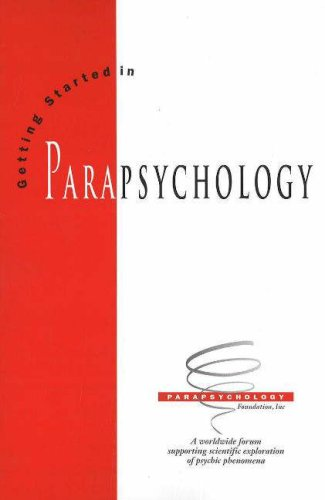 Getting Started in Parapsychology