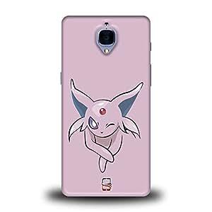 AllDeviceSkin Pokémon Character High Quality Print Hard Back Case Cover for OnePlus ThreeT, OnePlus 3T (Design-Pokemon-196)