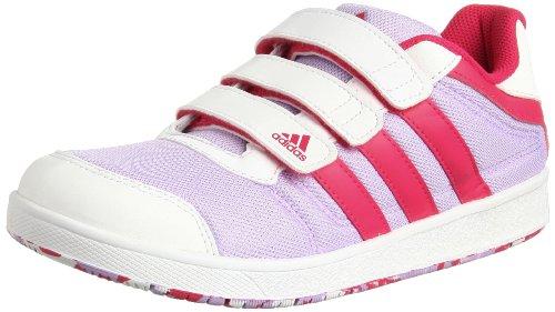 adidas Performance -  Lk Trainer 5 Cf K / D67598, Unisex - bambini viola (Violet - Violett (GLOW PURPLE S14 / VIVID BERRY S14 / RUNNING WHITE FTW))