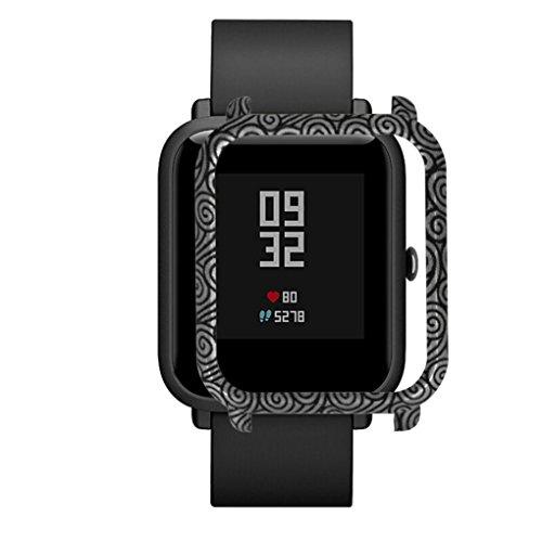 Neue Medizinische Peelings (taottao Neues Muster PC Case Cover Schützen Shell für Xiaomi huami amazfit Bip (begriffsklärung) Jugend Armbanduhr, F)