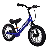 YANWE Balance Bike For Kids, No Pedal Traning Children Cycles With Adjustable Handlebar And Seat, Toddler Walking Bicycle (2-6Years Old)