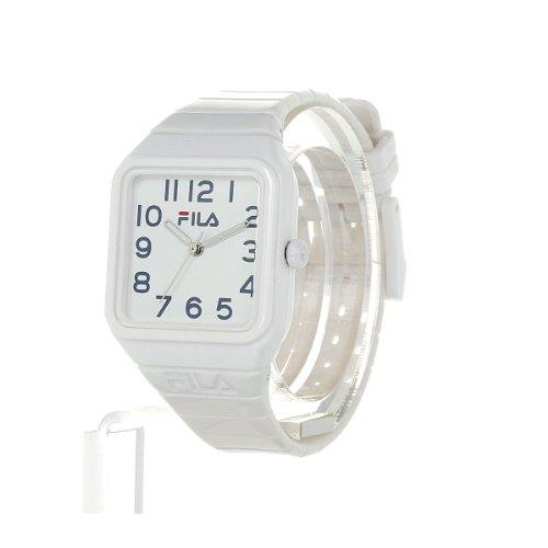 Fila Kinder-Armbanduhr Analog Plastik Weiß FL38018003 - 5