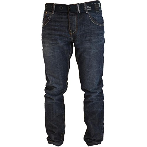 Jeans Crosshatch New Embossed Techno SW Dark Blue Tecno