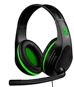 X-Storm Gaming Headset - Green - Casque Et Micro Gaming Multi-Plateformes (PS4, Ps3, Xbox 360, Pc)