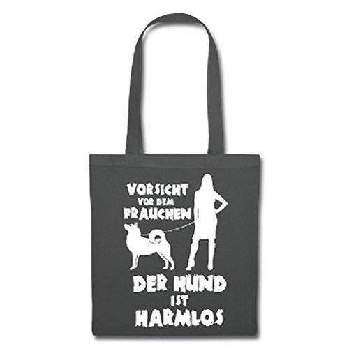 IchLiebeHunde.com, Borsa a tracolla donna Grafite