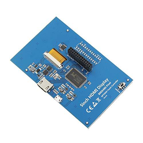 Elviray 5 Zoll 800x480 LCD hdmi Touchscreen Display tft LCD Panel modul Schild für Banana pi & Himbeer pi 2 Modell b/b + -