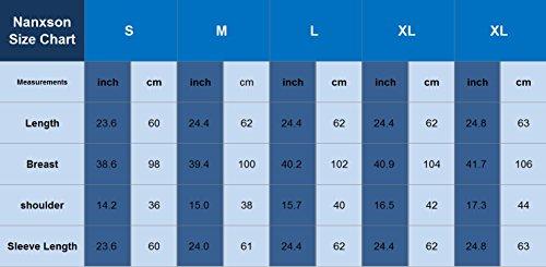 Nanxson(TM) blouson/tenue de base-ball sportive unisexe WTW0007 Gris