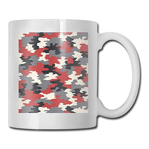 Porcelain Coffee Mug Camouflage Sanitas Ceramic Cup Tea Brewing Cups for Home Office