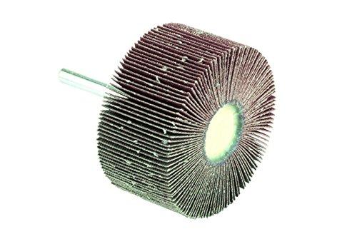 MOP mit Schaft aus Leinwand Schleifpapier Korund (667Varianten, ab 1.80Euro/CAD)–Körnung 60, Abmessungen 25x 15mm, Schaft 6mm (10teilig, 1.92Euro/CAD)