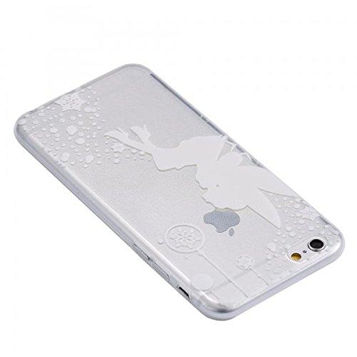 ECENCE APPLE IPHONE 6 6S (4,7) SLIM TPU CASE SCHUTZ HÜLLE HANDY TASCHE COVER TRANSPARENT DURCHSICHTIG CLEAR 12020501 Transparent Fee