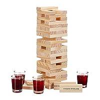 Relaxdays-Wackelturm-Trinkspiel-Drunken-Tower-Holzturm-60-Steine-4-Schnapsglser-Partyspiel-fr-Erwachsene-natur
