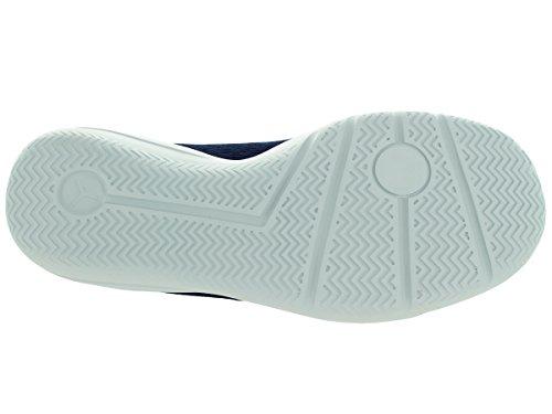 Nike Jordan Eclipse Bg, Baskets Unisexes - Enfants Bleu / Argent (mid Navy / Infrrd 23-pr Pltnm-sr)