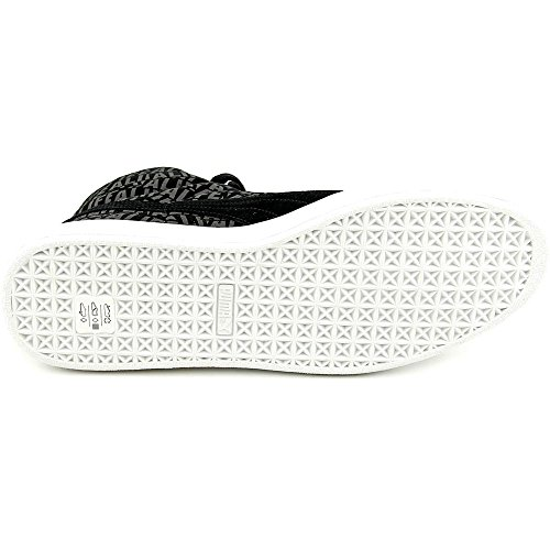 Puma Suede Mid X Sneakers Suede Collé Black