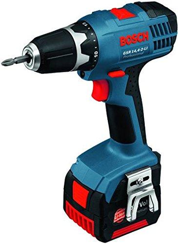 Preisvergleich Produktbild Bosch Professional GSR 14,4-2-Li Basic Duty Li-Ion Bohrschrauber, 14,4 V Akkuspannung, 7 mm Schrauben-Ø, 34/16 Nm Drehmoment, Schnelllader, L-BOXX