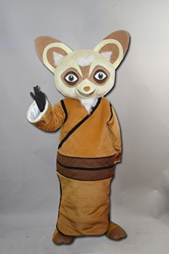 Kung Fu Panda Shifu?Waschbaer Maskottchen Kostuem Erwachsene Groesse?