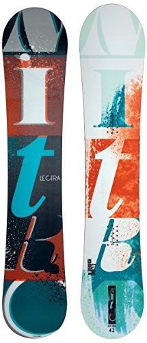 Nitro, tavola da snowboard donna lectra bold 15, nero (mehrfarbig), 142 cm