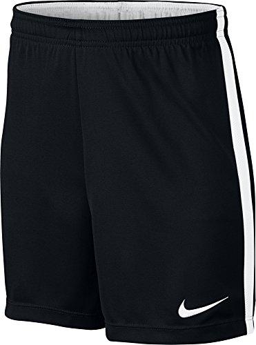 Nike e nk dry acdmy k pantaloncini da bambini, nero (black/white / white/white), l