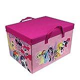 My Little Pony 2-In-1 Equestria Karte Spielmatte Spielzeug Aufbewahrungsbox Kinder MLP Playmat