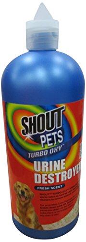 SHOUT für Haustiere Flecken Turbo Oxy Urin Destroyer
