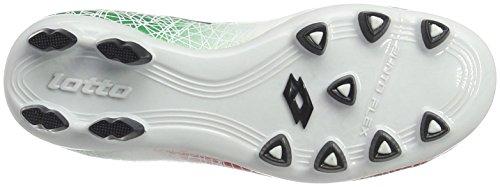 Lotto Unisex-Kinder Lzg Viii 700 Fgt Jr Fußballschuhe Weiß (WHT/BLU Avio)
