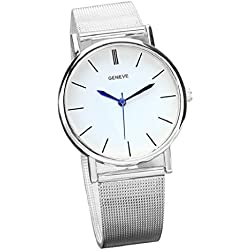 Tonsee Women's Fashion Watch Stainless Steel Band Quartz Wrist Watches