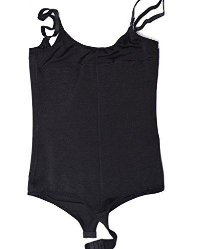 28a1539248cd1 NINGMI Women s Firm Control Thong Body Briefer Shapewear ...