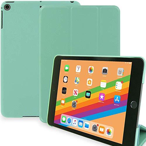 KHOMO iPad Mini 5 Hülle (2019) Smart Cover Case Ultradünne und Leichte Schutzhülle mit Stehfunktion und Magnetischem Verschluss - Minzgrün
