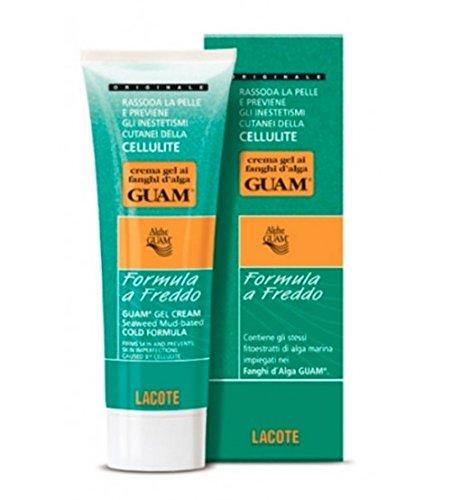 Fanghi Alga Guam Crema Gel Formula Freddo 250 ml Anti Cellulite Cold Cream Gel