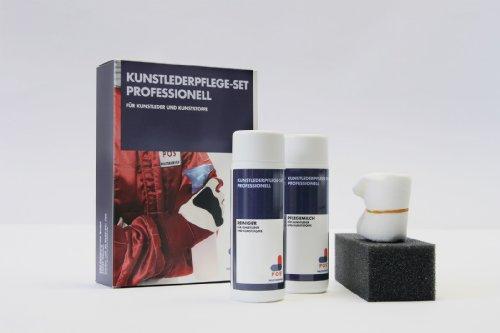 Preisvergleich Produktbild POS Kunstlederpflege-Set Professionell für Ihr Sofa, 2x150 ml