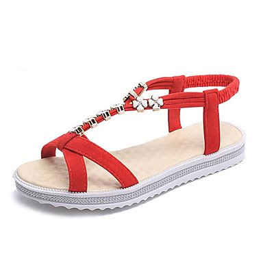 RTRY Donna Sneakers Comfort Pu Molla Canvas Informale Comfort Piatto Bianco US9 / EU40 / UK7 / CN41