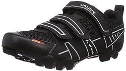 VAUDE Exire Active RC, Unisex-Erwachsene Radsportschuhe - Rennrad, Schwarz (black/silver), 46 EU (11.5 UK)