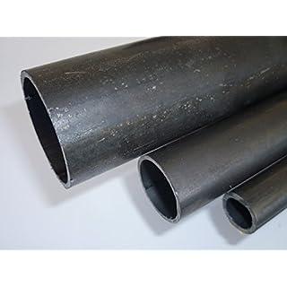B&T Metall Rohstahl Rundrohr, Ø 26,9 x 1,75 mm (3/4