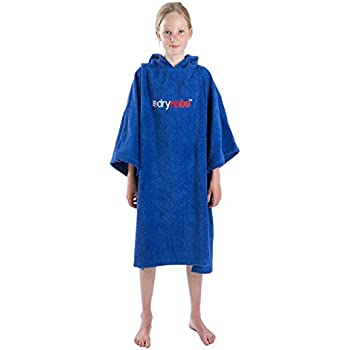Royal Blue Medium dryrobe Kids Beach Towel Changing Robe Change Poncho