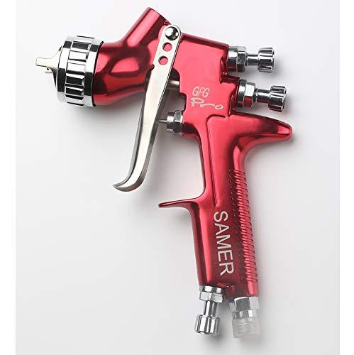 SAMER Pistola Profesional de Pintura para Coches GFG Pro, Pintada de Alta eficiencia, Buena atomización