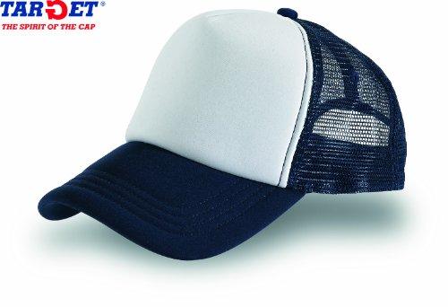 rapper-bianco-navy-rap-hip-hop-trucker-cap-trand-cappello-chapeau-caps