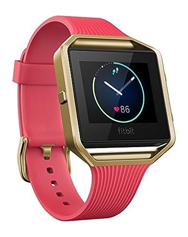 Fitbit Uni Blaze Smarte Fitness Uhr, Rose und Gold, S