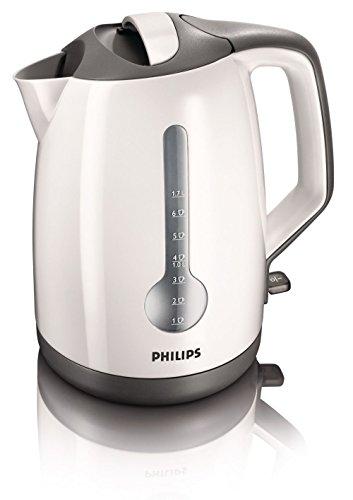 Philips HD4649/00 Bollitore Elettrico a Risparmio Energetico, Capacità 1.7 l, Bianco