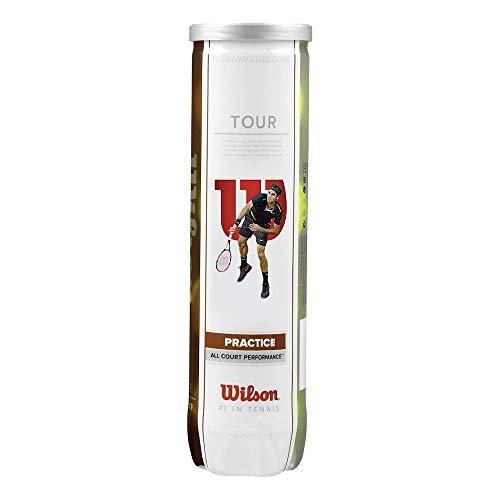 Wilson TOUR PRACTICE 4TBALL BLACK/ORANGE