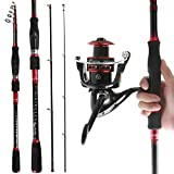REAWOW Fishing Rod And Reel Combos Portable Carbon Fiber Telescopic Deep Sea Fishing