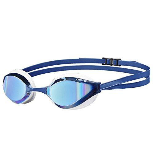 Arena Schwimmbrille Python Miror, Blau/Weiß