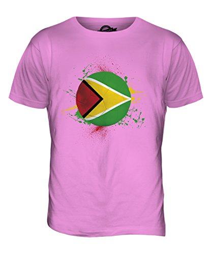 CandyMix Guyana Fußball Herren T Shirt Rosa