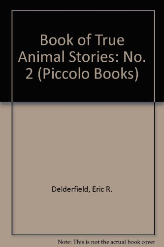 Eric Delderfield's second book of true animal stories.
