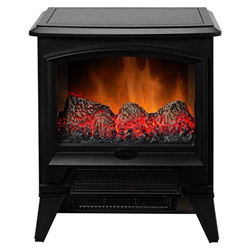 Dimplex Dimplex CAS20E Casper 2000W 2 Heat Settings Optiflame Electric Stove in Black