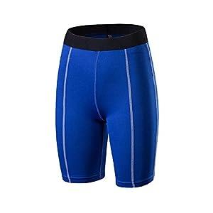 ZongSen Damen Shorts Kurze Hosen Yogahose Fitness Sporthose mit Quick Dry Function