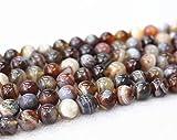 All' ingrosso Botswana agata perline, 4mm 6mm 8mm 10mm 12mm 14mm Botswana agata liscio e perle.Botswana agata perline all' ingrosso. All' ingrosso perline. 4mm,90pcs
