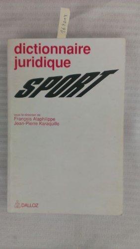 Dictionnaire juridique sport