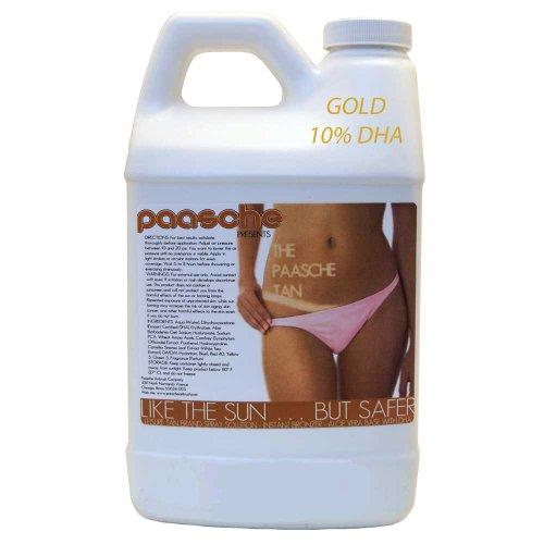 Paasche Airbrush Tanning Solution, White -