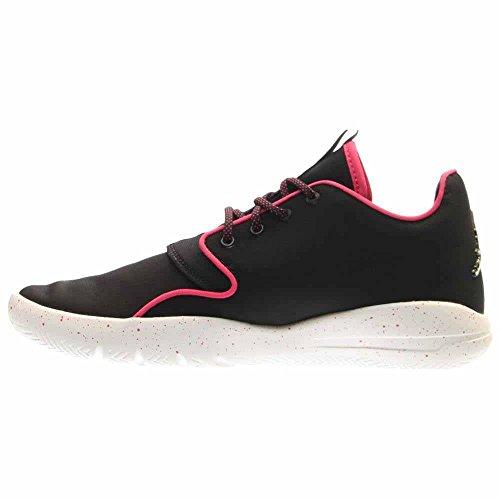Nike Jordan Eclipse GG, Scarpe da Corsa Bambina Nero / bianco / rosa / bianco (nero / bianco-Vivid Pink-bianco)